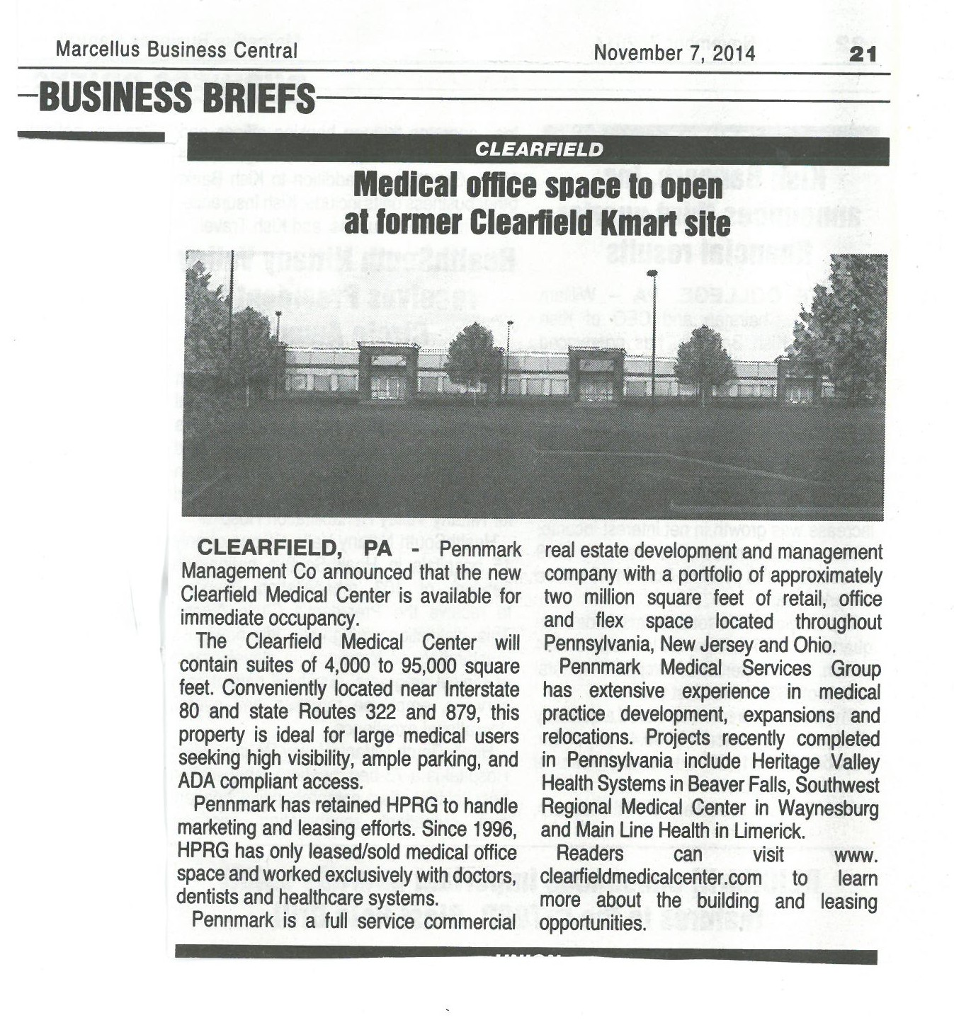 Medical Office space to open at former Kmart11-7-14